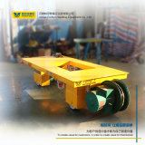 蓄电池30T烘干室电动平车 电动地平车 轨道转运车