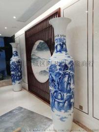 特价西安大花瓶 清明上河图青花1.5米花瓶优惠中