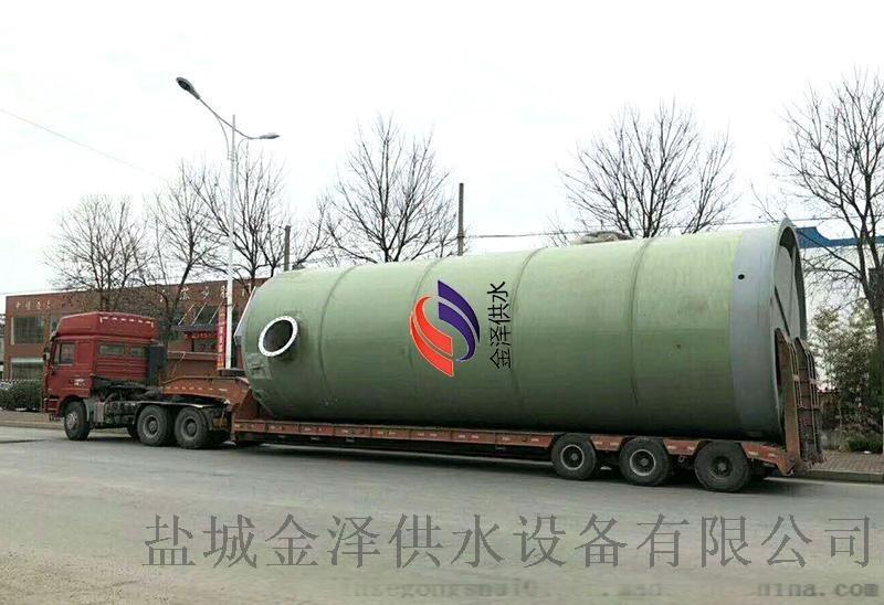 四川一體化污水提升泵站生產流程