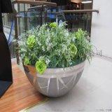 簡約不鏽鋼花盆,中式不鏽鋼花盆