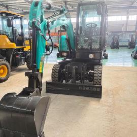 轮式挖掘机 轮式抓木机 四驱小型挖掘机