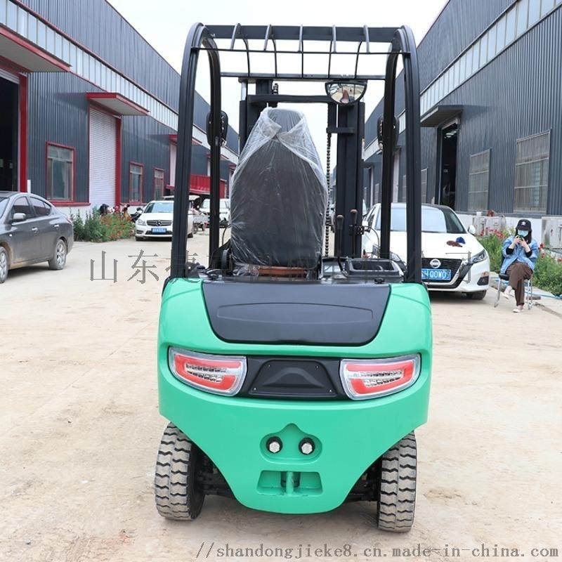 四轮座驾全电动堆高车 捷克3米升高车 电动叉车