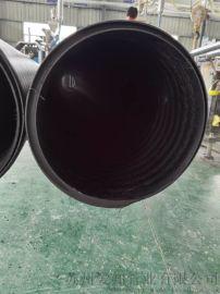 昆山HDPE中空壁缠绕管直销 量大优惠 井筒管厂家