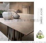 供應大理石餐桌椅組合現代簡約時尚餐桌家用吃飯桌子
