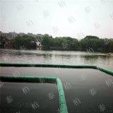 耐藍藻類水生物侵蝕pe塑料攔污浮筒