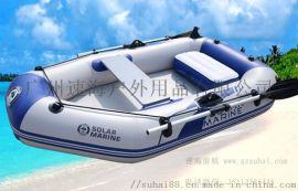 2人充气艇,加厚橡皮船,夹网硬底漂流船,耐磨冲锋舟