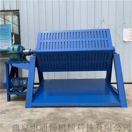 六角滚筒抛光机 汽车配件批量打磨机 铁器除锈机