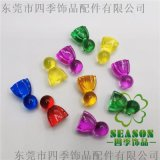 厂家直销塑胶玩具配件 游戏配件 塑胶棋子