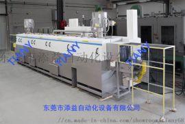 通过式喷淋清洗机 电器配件清洗及烘干