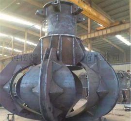1立方电动液压多瓣抓斗 单钩起重机 环保电厂用