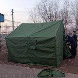 厂家  有机硅帆布帐篷 绿色户外露营帐篷