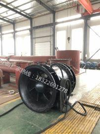 广西铸铁闸门泵QGWZ全贯流潜水电泵
