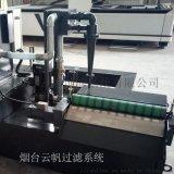 涡流分离器与机床水泵配合使用