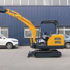微挖小型挖掘机 工程迷你多功能开沟破碎机