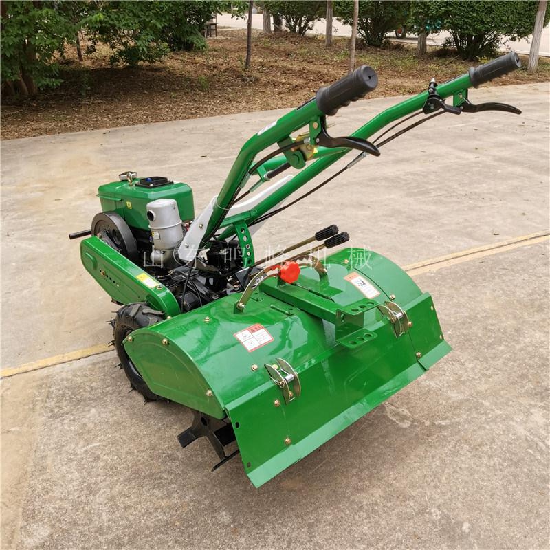 180柴油机后旋微耕机,旋地开沟除草多用途微耕机