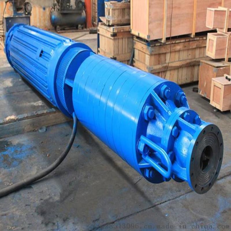 山東200QJR耐熱深井潛水泵 浮筒式潛水泵