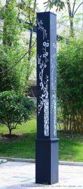 3米4米5米方形柱led庭院灯草坪灯园林景观灯