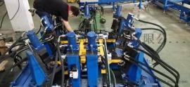 法莫森-IBC吨桶框架压扁冲孔机