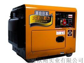 单缸风冷6kw柴油发电机技术