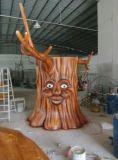 戶外景觀工程一手廠家定製植物說話樹雕塑