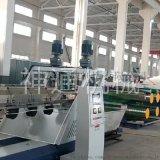 塑料双色人造草坪单丝拉丝机组生产线设备