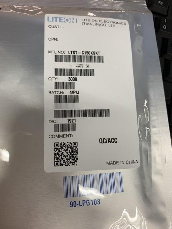 LTST-C150KSKT 贴片发光二极管