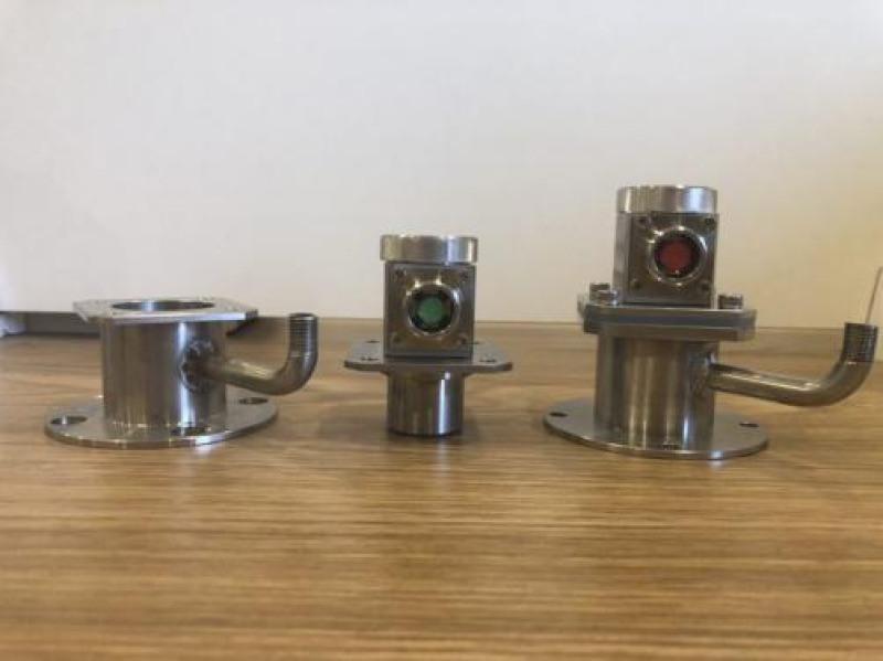 红外测温仪, 非接触式工业红外测温仪