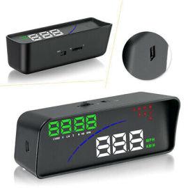 多功能车载显示器P9HUD带自动感光功能