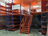 江门阁楼平台仓库重型货架搭建钢结构工厂库房二层夹层