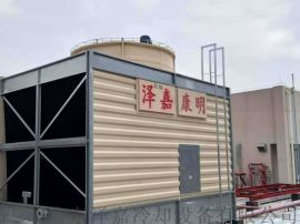 广东方形横流式冷却塔,节能塔