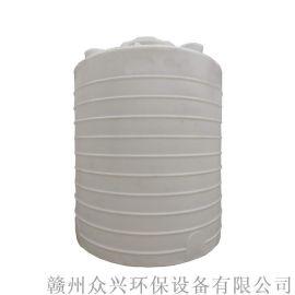 大型塑料水桶江西赣州特大储液罐PE牛筋塑料桶