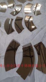 镜面不锈钢线条包边条规格多样来图定做