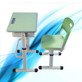单人升降课桌椅  学生课桌椅 课桌椅定制厂家