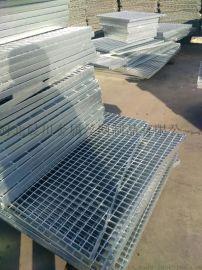 钢格栅走道板,镀锌走道钢格板, 天津钢格栅板