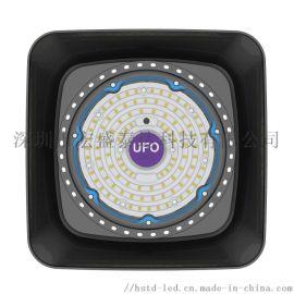 方形led工礦燈UFO廠房車間燈100W