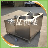 不鏽鋼臥式糯米腸液壓灌腸機-成套香腸機器可定製