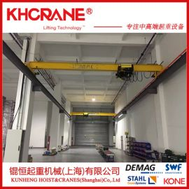 上海厂家热销LD2t欧式单梁起重机 单梁行车