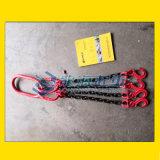 四腿鏈條成套索具耐磨耐高溫,4倍安全係數