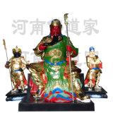 武財神關公雕塑 1.9米關二爺神像製作