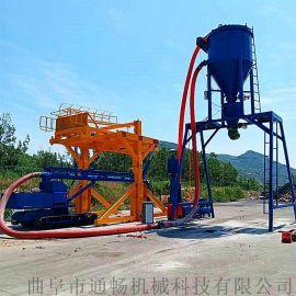 粉料气力清库机 干灰粉装罐车输送设备 风力吸灰机