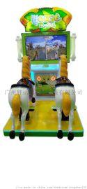 双人投币摇摆机梦幻骑士儿童娱乐机源头厂家直销