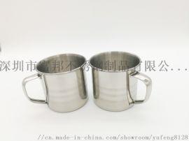 食品級304不鏽鋼兒童口杯幼兒園學生杯子不鏽鋼杯子