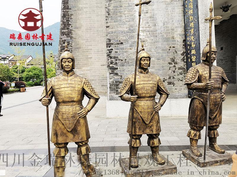 乐山雕塑厂,景观雕塑,人物动物泥塑生产厂家