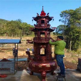 昌東銅寶鼎廠家、生產銅寶鼎廠家、寺廟寶鼎定做