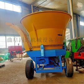 草捆破碎粉碎一体机 圆盘式玉米秸秆草捆粉碎机厂家