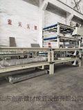 生产烟道板、排气道板设备