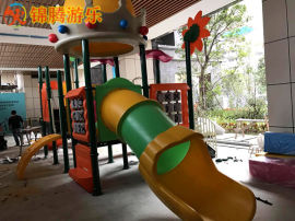 南寧市廠家直銷大型商場兒童滑滑梯款式新穎兒童的喜愛
