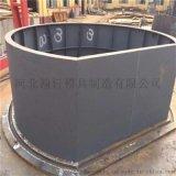 圓形化糞池模具價格優惠/圓形化糞池鋼模具尺寸規格