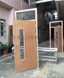 钢制木纹转印学校门 钢制木纹教室门