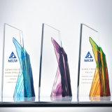 琉璃奖杯定制定做水晶创意刻字优秀员工狼图腾赛事活动颁奖纪念品